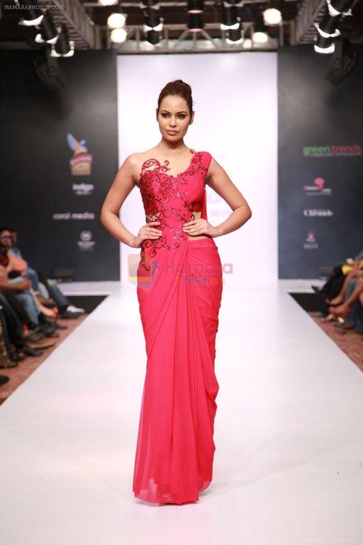 Saree for fashion show amita gupta amitaguptafashi on pinterest