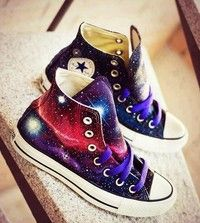 Stunning Galaxy Shoes Sneakers for Fashion Girls