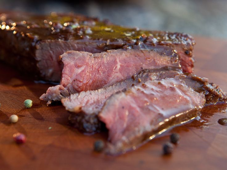 Grilled New York Strip Steak with Five-Peppercorn Sauce Recipe : Guy Fieri : Food Network - FoodNetwork.com