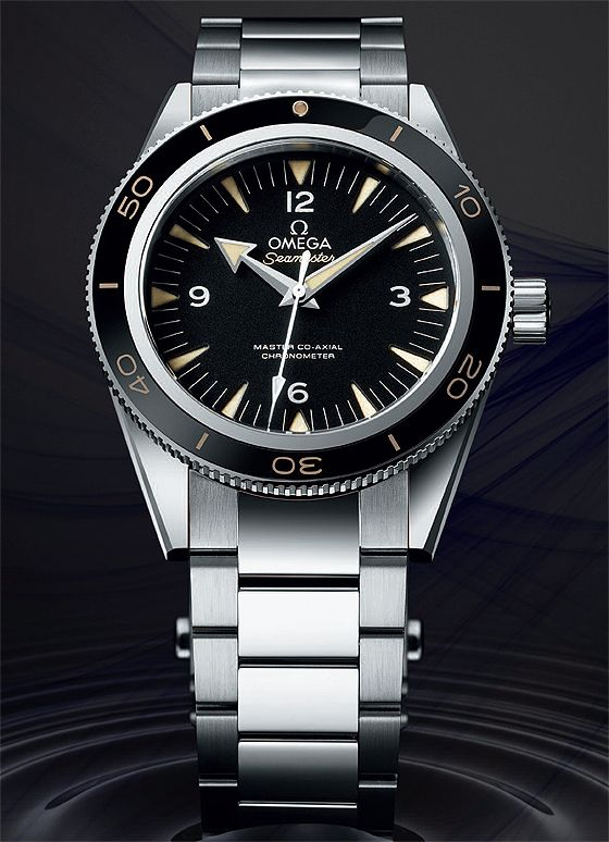 Omega Seamaster 300  possibly my next one. Would Lisa buy this for me...........? NO