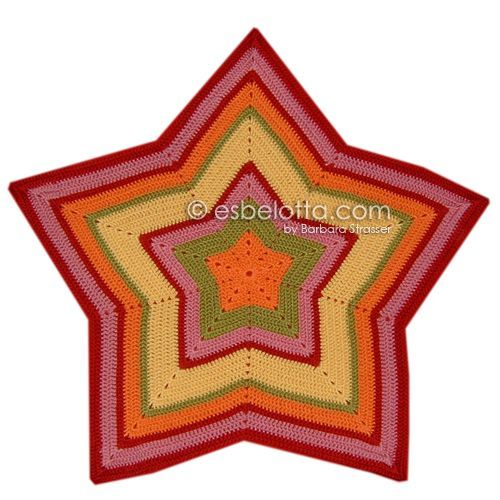 Esbelotta Anleitung Für Eine Sternendecke Starghan Häkeln