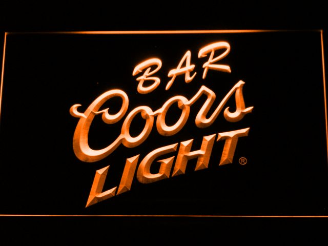 Coors light bar led neon sign coors light and products coors light bar led neon sign aloadofball Images
