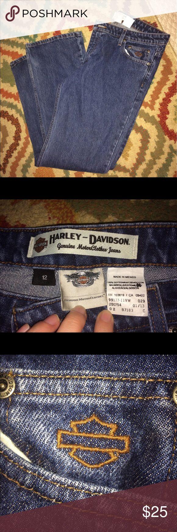 Harley-Davidson Jeans Authentic Harvey-Davidson jeans size 12. Never worn. Harley-Davidson Jeans