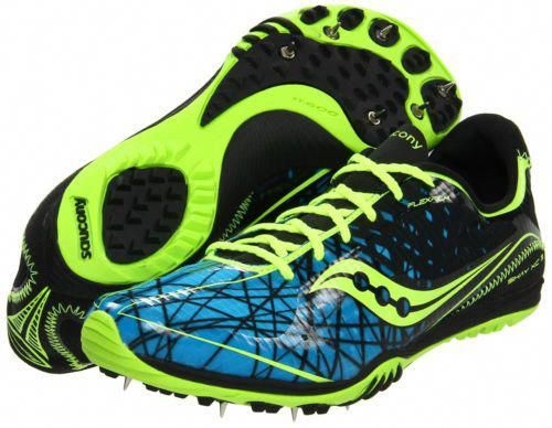 Saucony Shay XC3 Mens Cross Country Track Field Spikes Shoes