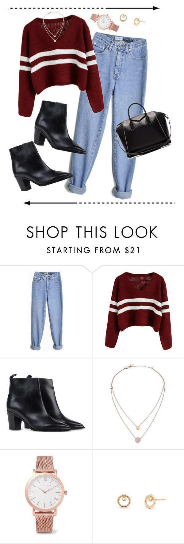"""""""Friends' Monica Geller"""" by discarnate ❤ liked on Polyvore featuring Acne Studios, Michael Kors, Larsson & Jennings and Givenchy"""