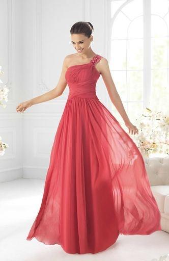 St. Patrick. Vestido para boda rojo. Dress.