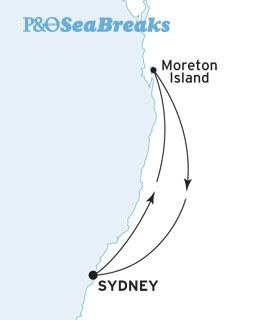 P & O Sydney to Moreton Island, September 2013
