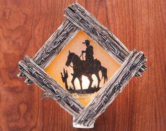 Rustic Southwestern Night Light -Cowboy (7)