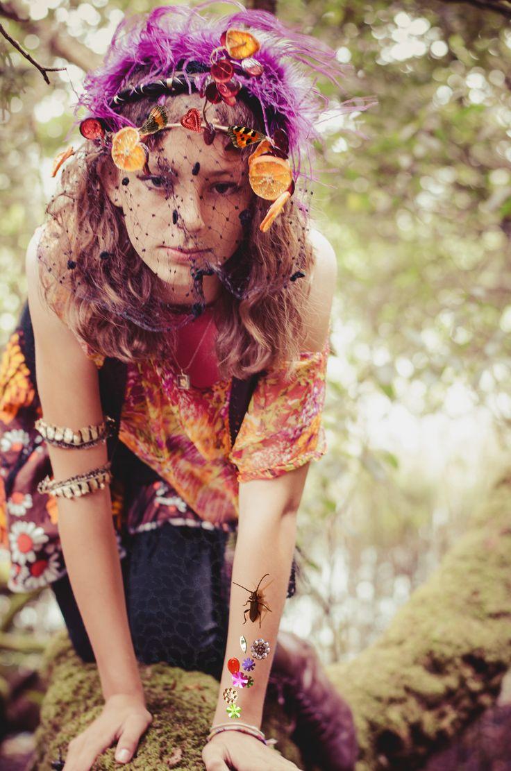 'Wild at Heart' Photography: Blair Alexander Massie (B.A Marauder) blairalexander.tu... | Concept/Design/Styling/Makeup: Alice Halliday etsy.com/shop/alicehalliday | Hair: Faye Mazani | Model: Tara Farley | Location: Liss Ard Estate, Skibbereen, Co. Cork, Ireland