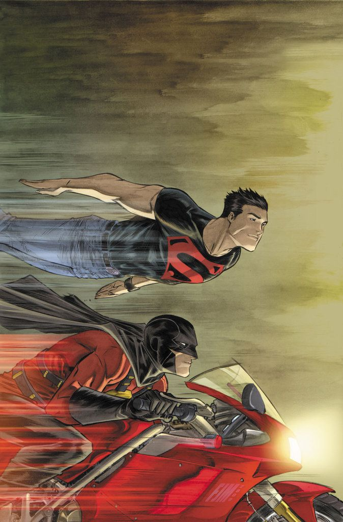 Red Robin and Superboy byFrancis Manapul