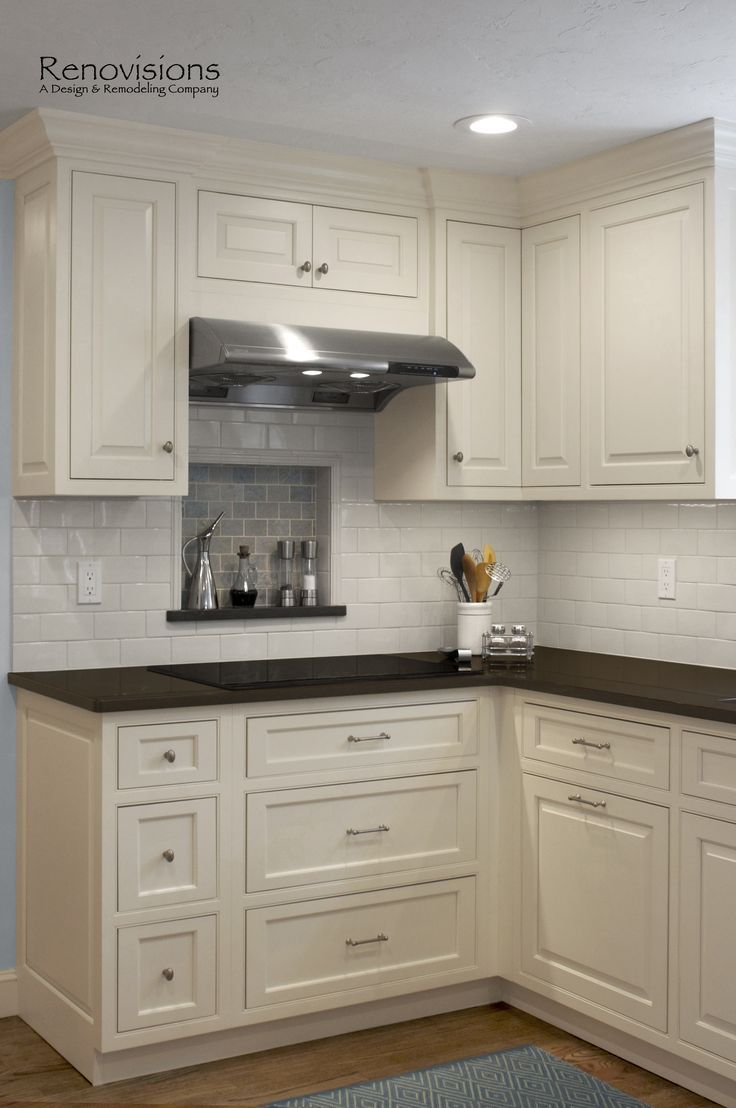 Kitchen Remodel By Renovisions Custom Painted White Inset