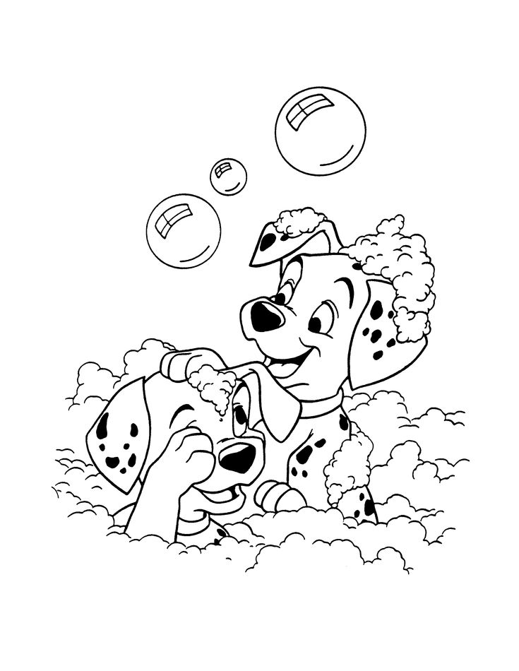 273 best 101 dalmatian coloring pages images on Pinterest | 101 ...