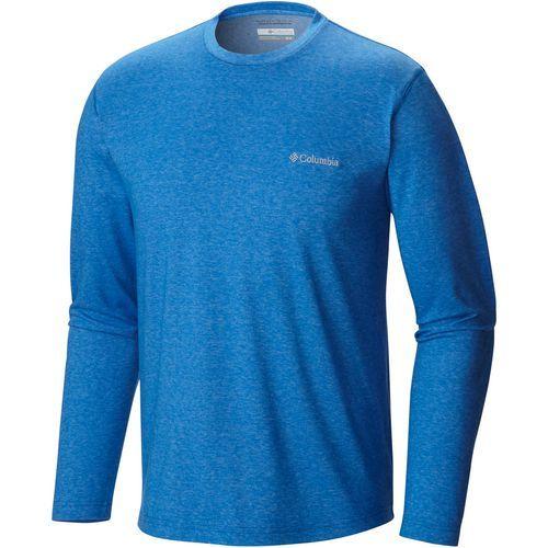 Columbia Sportswear Men's Thistletown Park Big & Tall Long Sleeve T-shirt (Blue Bright, Size ) - Men's Outdoor Apparel, Men's Longsleeve Outdoor To...