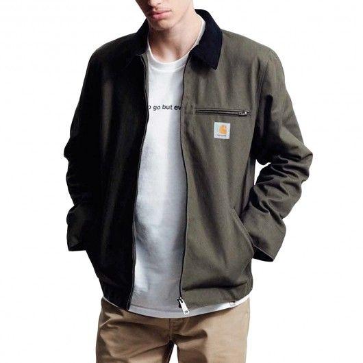 CARHARTT Detroit Jacket blouson cypress rigid 179,00 € #skate #skateboard #skateboarding #streetshop #skateshop @playskateshop
