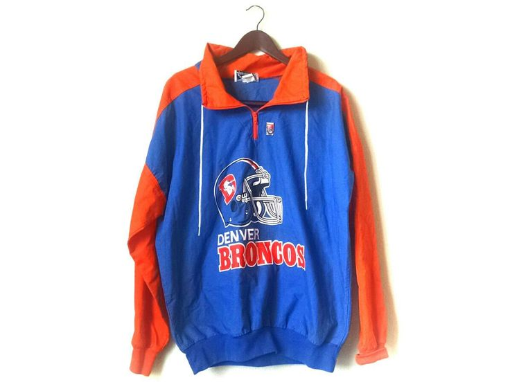 Vintage 1980s Denver Broncos NFL jacket by streetstyler on Etsy https://www.etsy.com/listing/495688013/vintage-1980s-denver-broncos-nfl-jacket