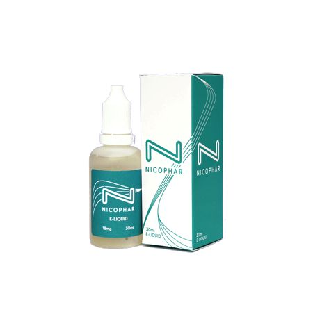 New NicoPhar – VG E-liquid. This Irish made Vegetable Glycol based e-liquid is made with only 3 high quality ingredients, sourced within the EU. Nicophar – VG E-Liquid 30ml can be used to refill Clearomisers, Glassomisers or Tanks.