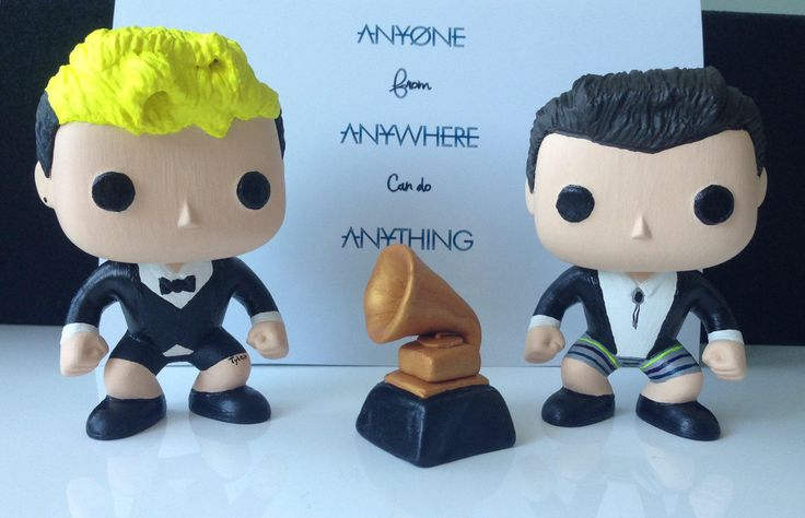 Tyler Joseph and Josh Dun Grammy awards. A personal favorite from my Etsy shop https://www.etsy.com/listing/517496999/tyler-joseph-and-josh-dun-grammy-awards