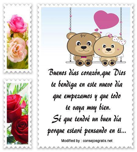 descargar frases bonitas de buenos dias para mi amor,descargar mensajes de buenos dias para mi amor:  http://www.consejosgratis.net/bellas-frases-de-buenos-dias-para-mi-novia/ #Frasesdeamornovia