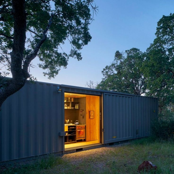 Shipping container homes can be elaborate and