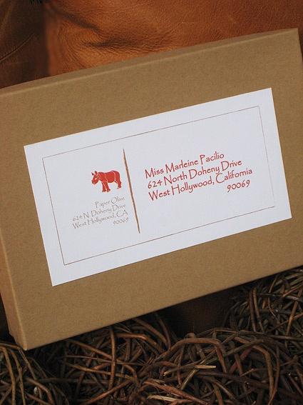 This Safari Wedding Invitation Has A Wonderful Custom Labeled Khaki Mailer Box Lined With Natural Gres