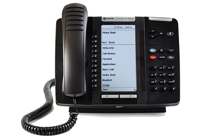 It's a pretty good looking phone!  Now with a backlit display!  @Mitel MiVoice 5320e IP Phone | #Mitel - United States (EN)