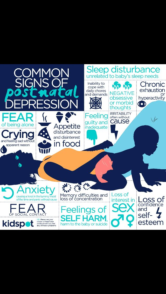 #Postnatal #depression and the possible signs to look for.