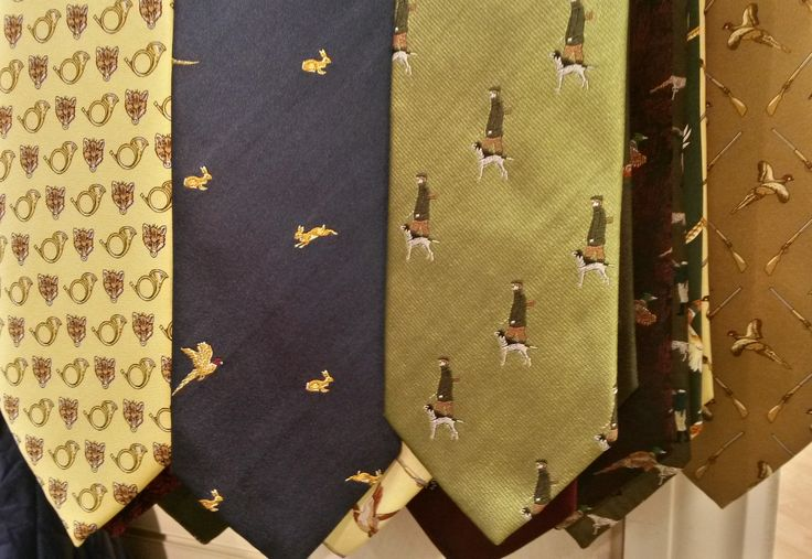 Is your Dad a fan of shooting, hunting, or just walking his dogs in the beautiful Lincolnshire countryside? We have gift ideas for the country gent, such as these fun ties from just £25 at Luck of Louth.