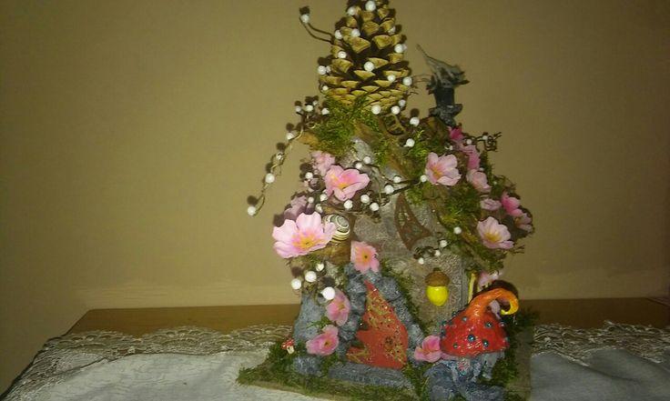 Spring of fairy house