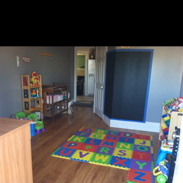 Daycare set up idea daycare room pinterest ideas floor mats and paint - Daycare room setup ideas ...