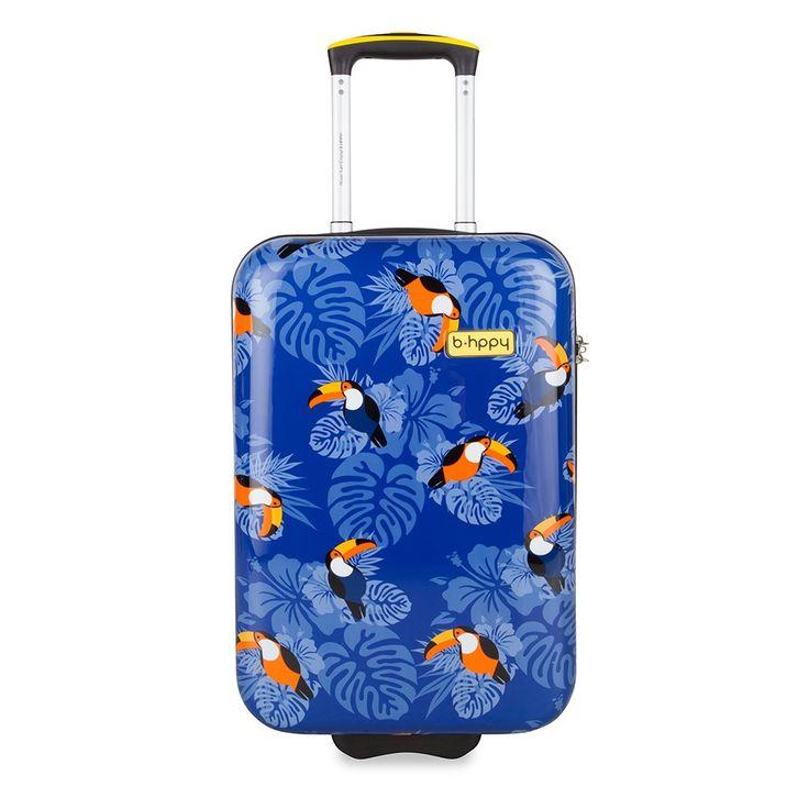 Bhppy Handbagage Koffer 55 I Can Toucan
