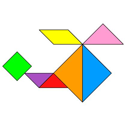Tangram Helicopter 2