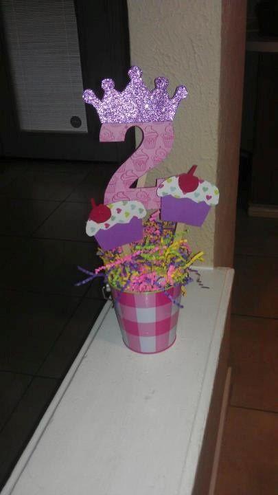 Fiestas infantiles ideas para un centro de mesa de - Decoracion de cumpleanos infantiles ...
