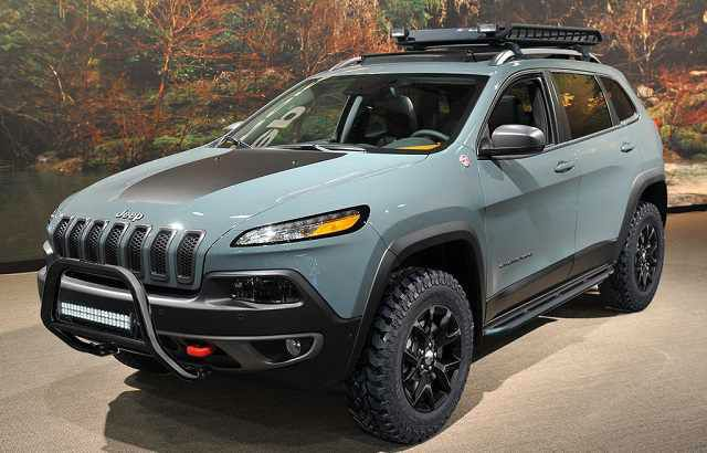 2018 Jeep Cherokee Trailhawk Wheels Amp Motors Pinterest