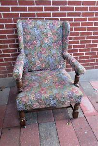 Vintage Wing Armchair