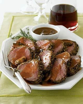 Recipe for Filet Mignon with Mushroom and Madeira Sauce
