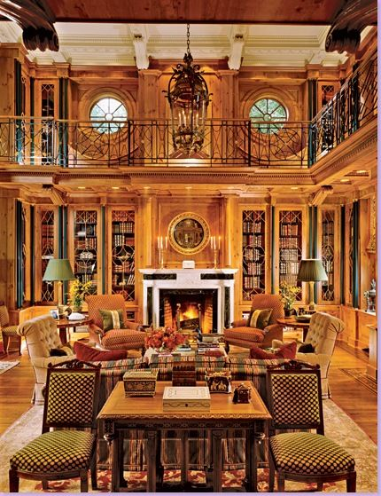 two story library interior design pinterest