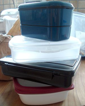 Selecting the right bento lunch box.  This blog is all about bento box preparation and eating...the food within, not the box itself.