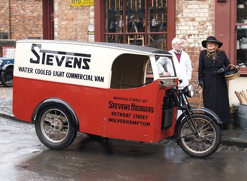 Stevens Three Wheel van