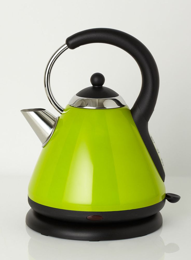 Lime essentials pyramid kettle kitchen pinterest Green tea pot set