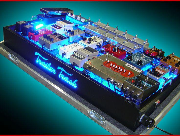 trailer trash glow top pedal board guitar fx pinterest guitars. Black Bedroom Furniture Sets. Home Design Ideas