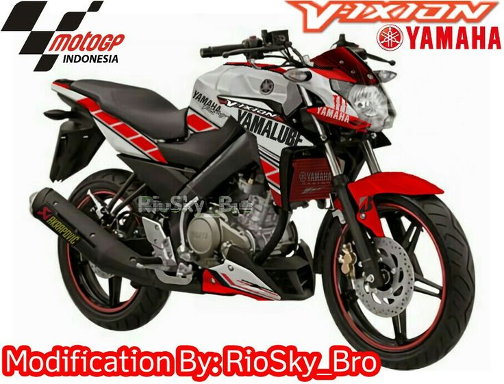 Yamaha New Vixion Advance Theme MotoGp