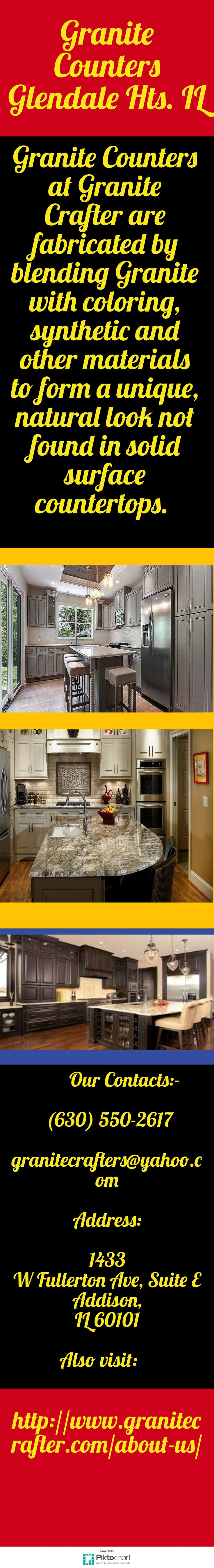Granite Counters are a popular choice and are available in stunning color and pattern variations. For Granite Counters Glendale Hts. IL, call at (630) 550-2617.   http://www.granitecrafter.com/stones/marble/