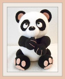 Handmade by Arina: Big Panda