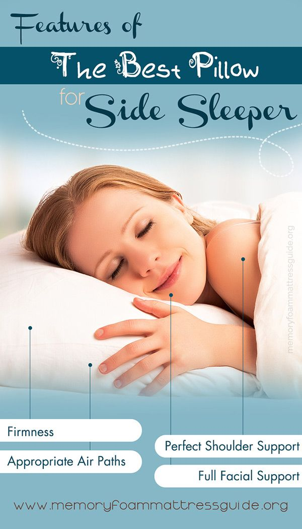best pillow for side sleepers - Best Pillows For Side Sleepers