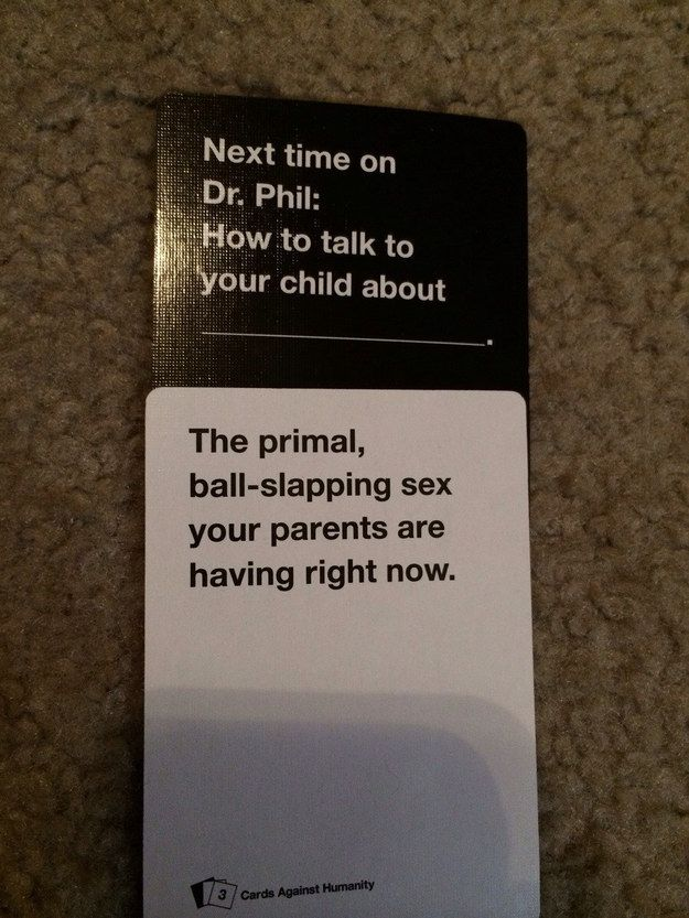 Day 23: Something to do on a game night: Cards Against Humanity; guys, I really wanna play this.
