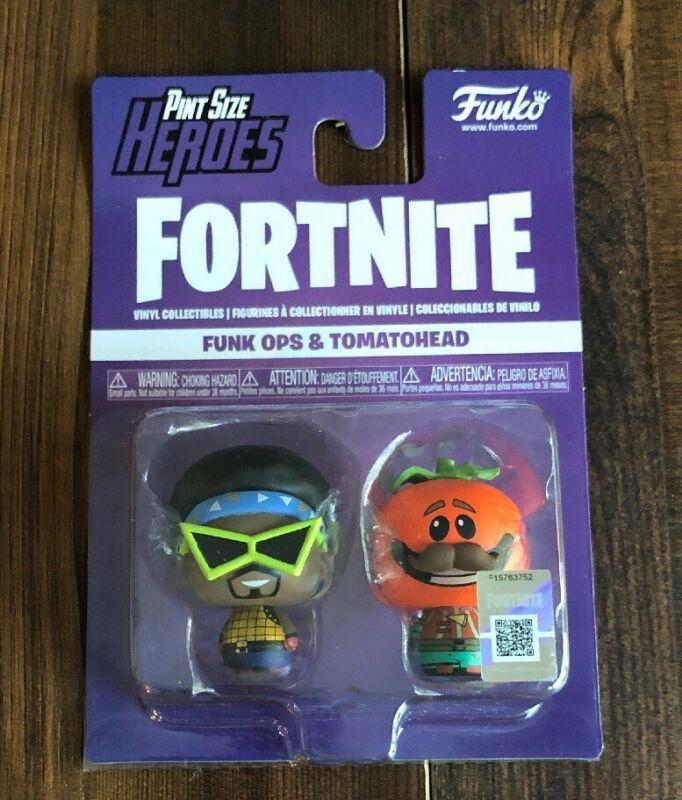Funk Ops /& Tomatohead 2-Pack Funko Pint Size Heroes Fortnite