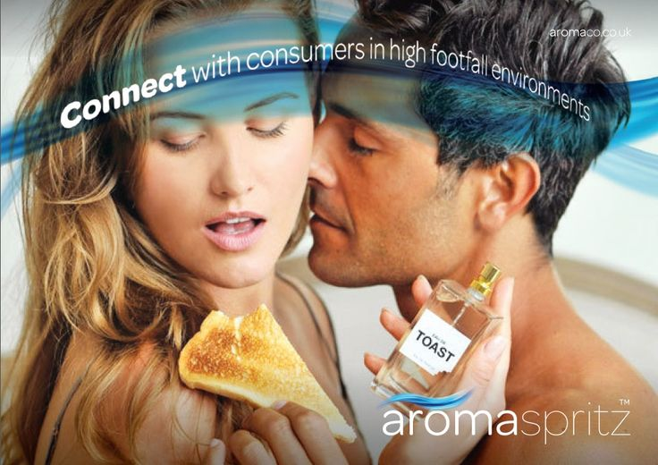 the aromaspritz, is a fab cost effective way of diffusing an aroma.  Have mini ones as giveaways and for trade packs. Or do something different like we did with the Bakers Federation and make a weird and wacky fragrance for a marketing campaign.
