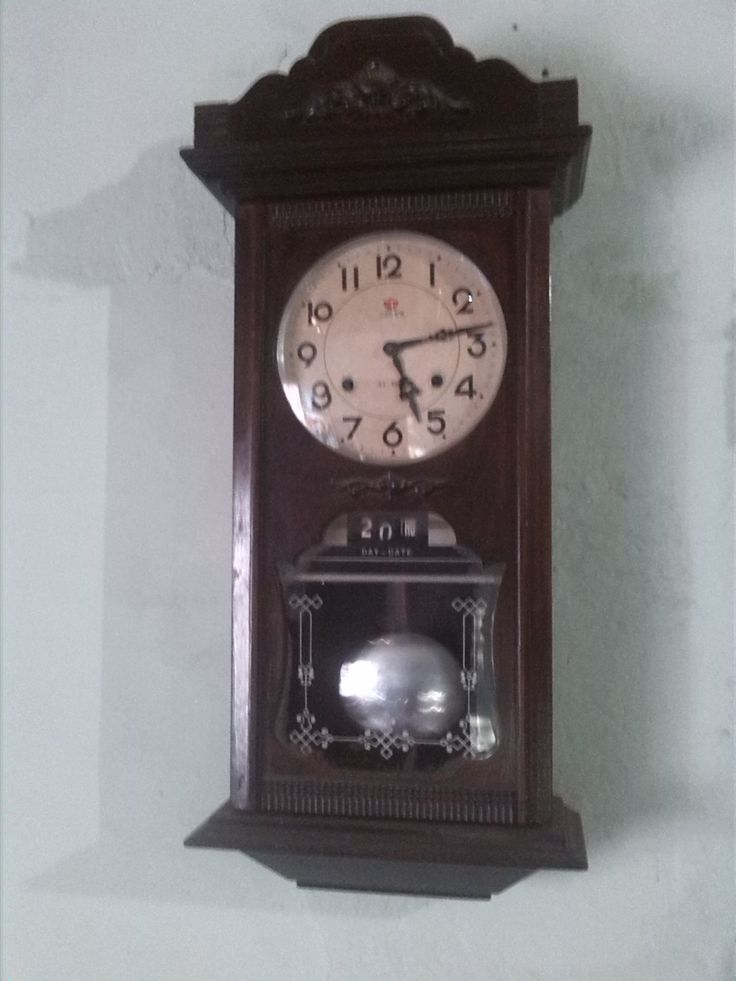 Reloj De Pared Antiguo Koreano Marca Crown vendido