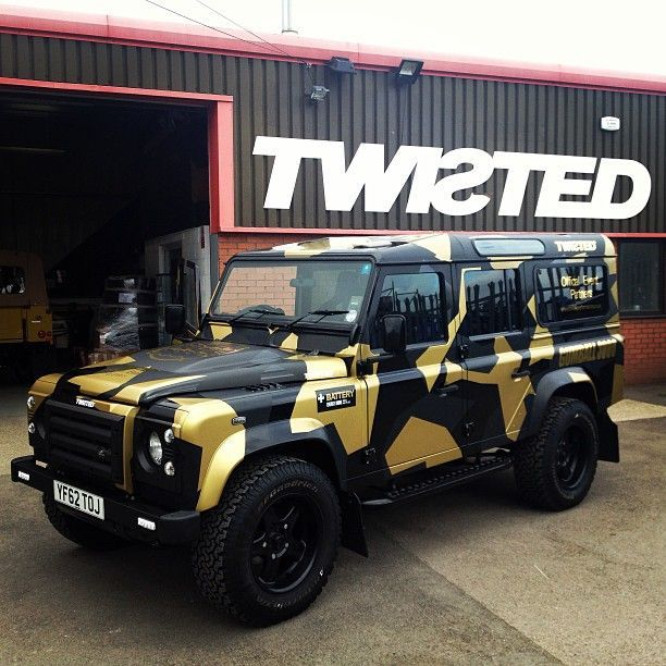 Land Rover Suvs: #LandRover Defender By Twisted #gumball3000