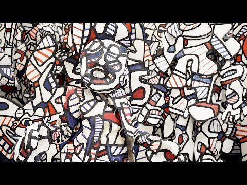 Jean Dubuffet -- Mayor Retrospective at Fondation Beyeler (VIDEO)